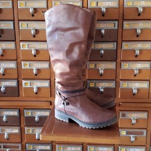 Spring Step wide calf tall boot